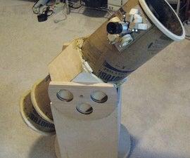 Smaller Dobsonian telescope