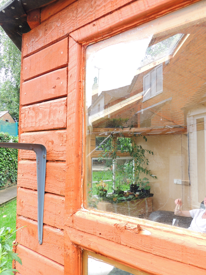 Picture of Cladding and Finishing the Window Frames With Mouldings