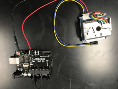 How to Wire an Arduino and Dust Sensor