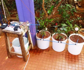 Automated Watering of Potted Plants with Intel Edison