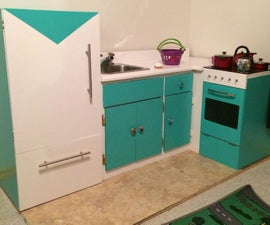 Play kitchen in time for Christmas