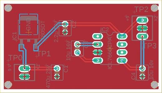 Plus-minus 5V Supply From 9V Battery (Part-1)