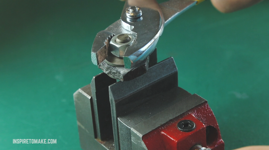 Drilling a Hole.