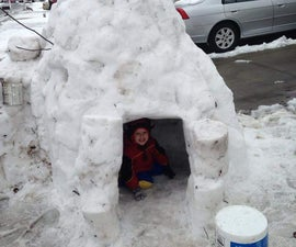 bucket igloo