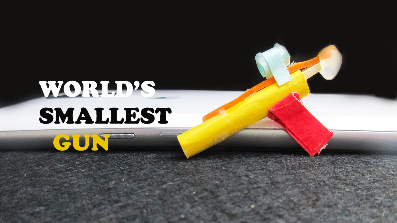 Picture of How to Make Worlds Smallest Gun From Paper
