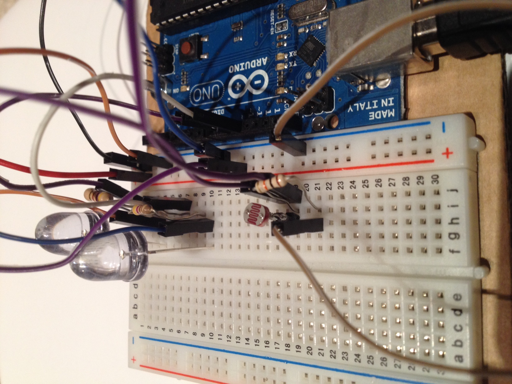 Picture of Connect the Photoresistor