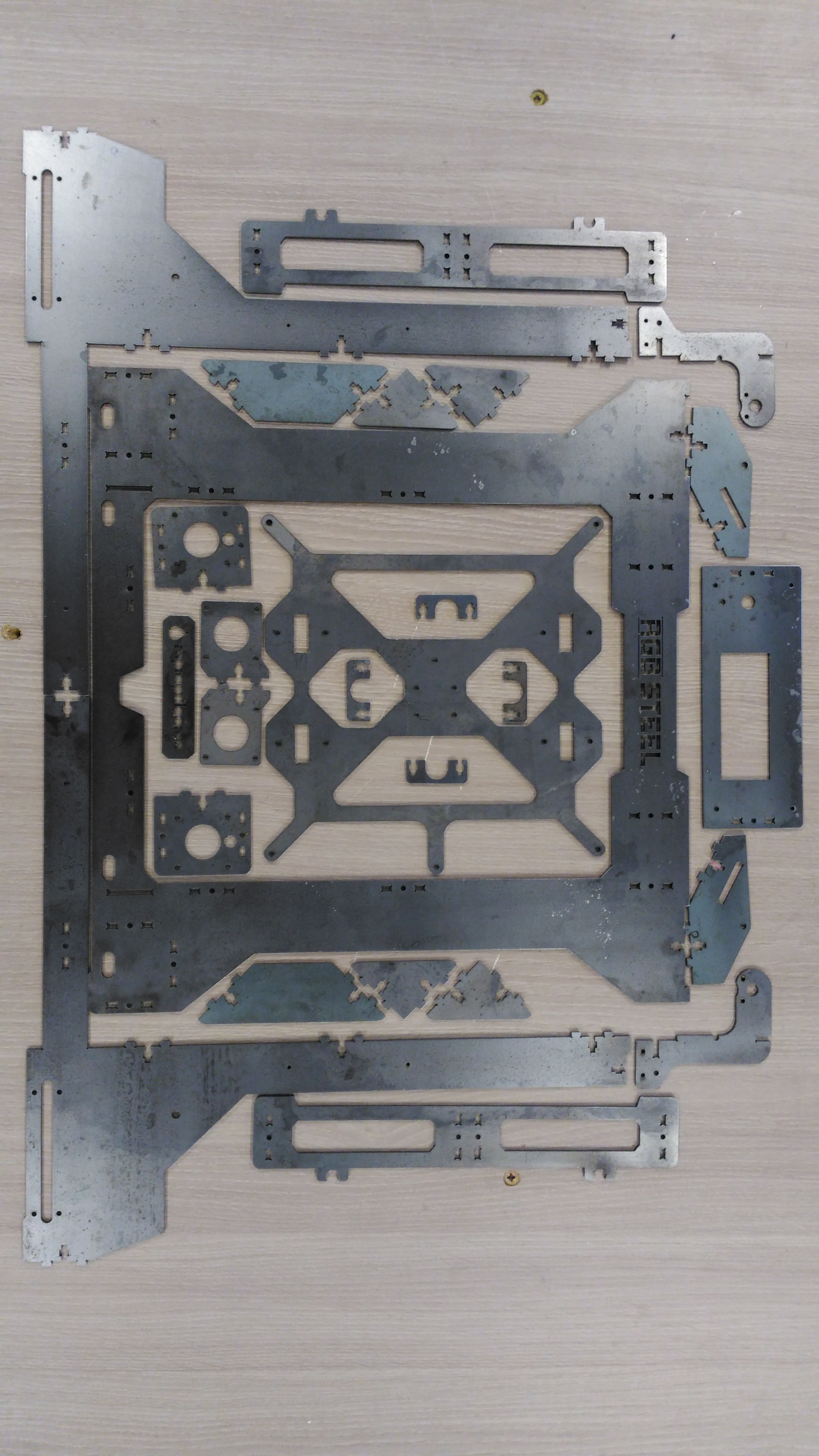 Picture of Laser Cut Carbon Steel