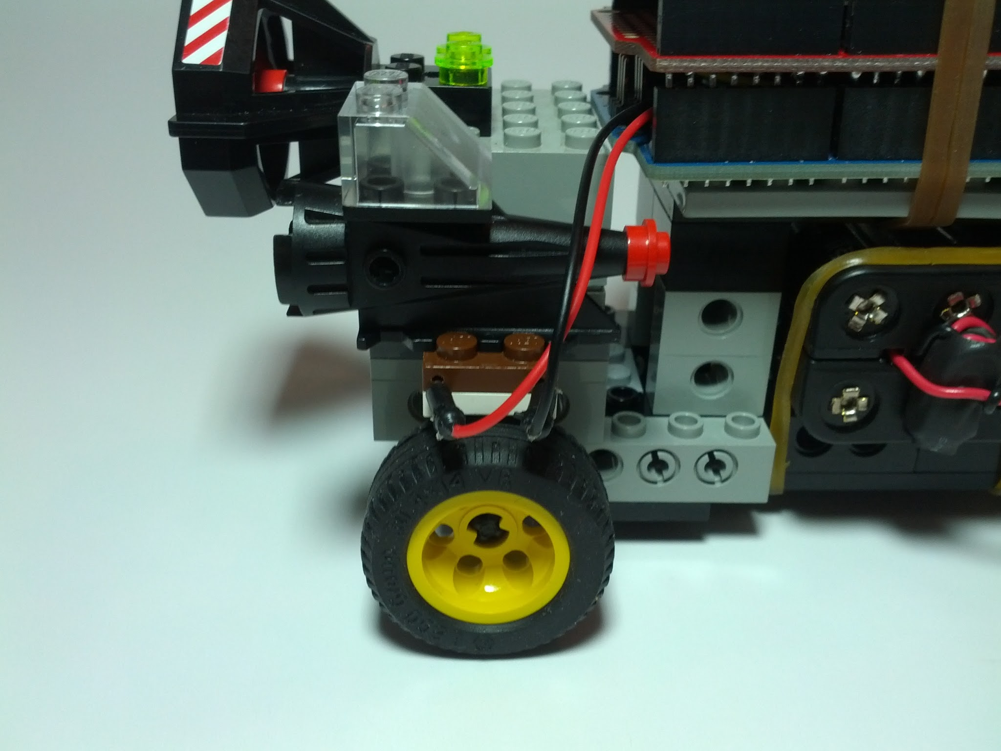 Picture of Powering the Drive Wheels
