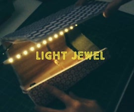 Light Jewel  ✽ Control your LED stripe without arduino and code