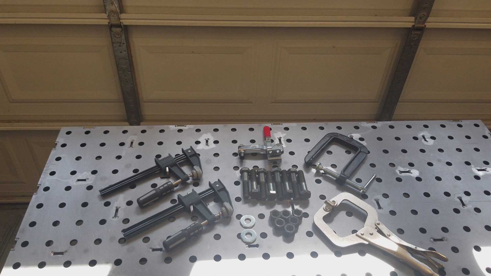 Picture of Fixture Clamps for Certiflat Weld Tables