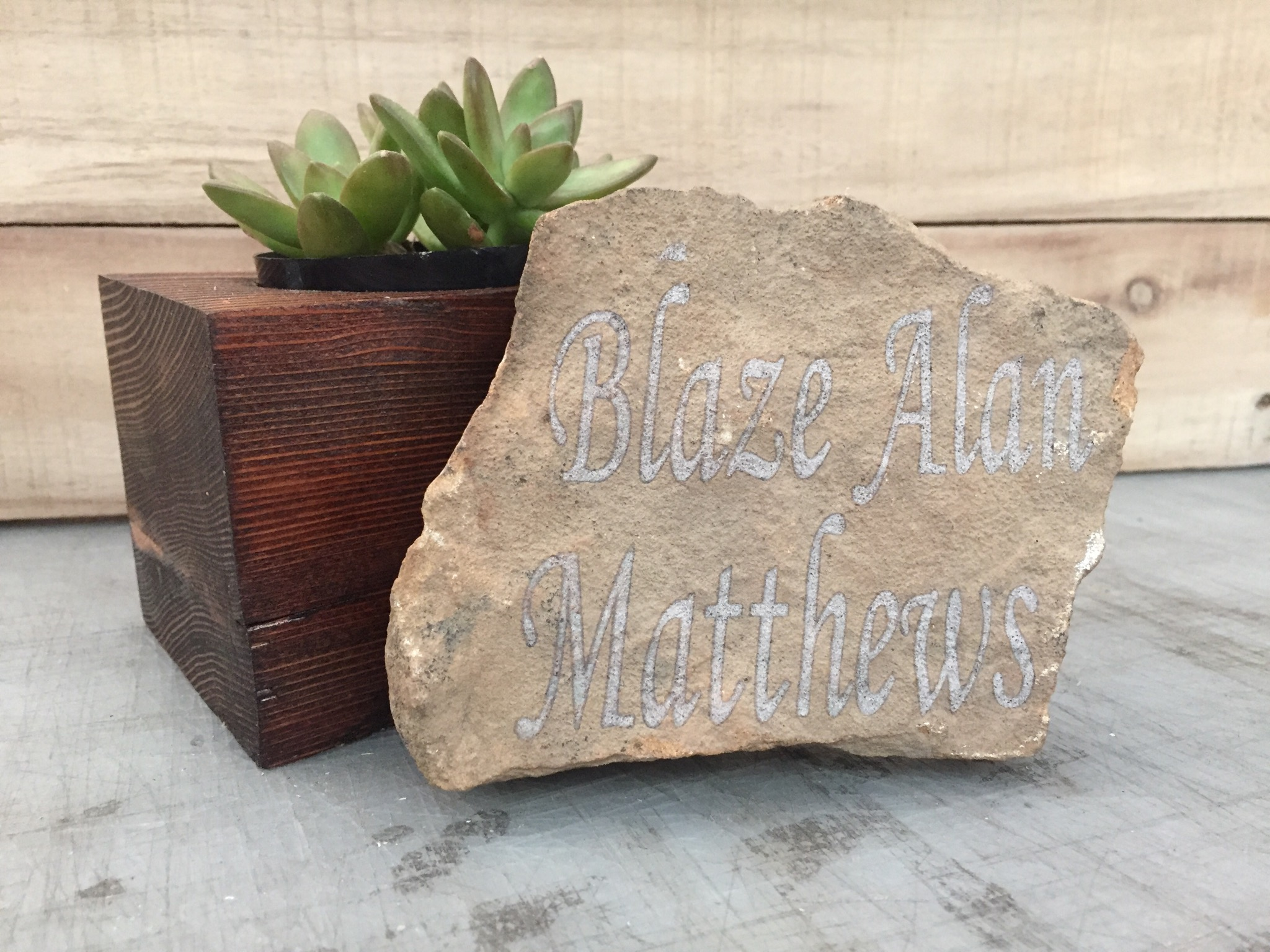 Picture of Engraved Rock!
