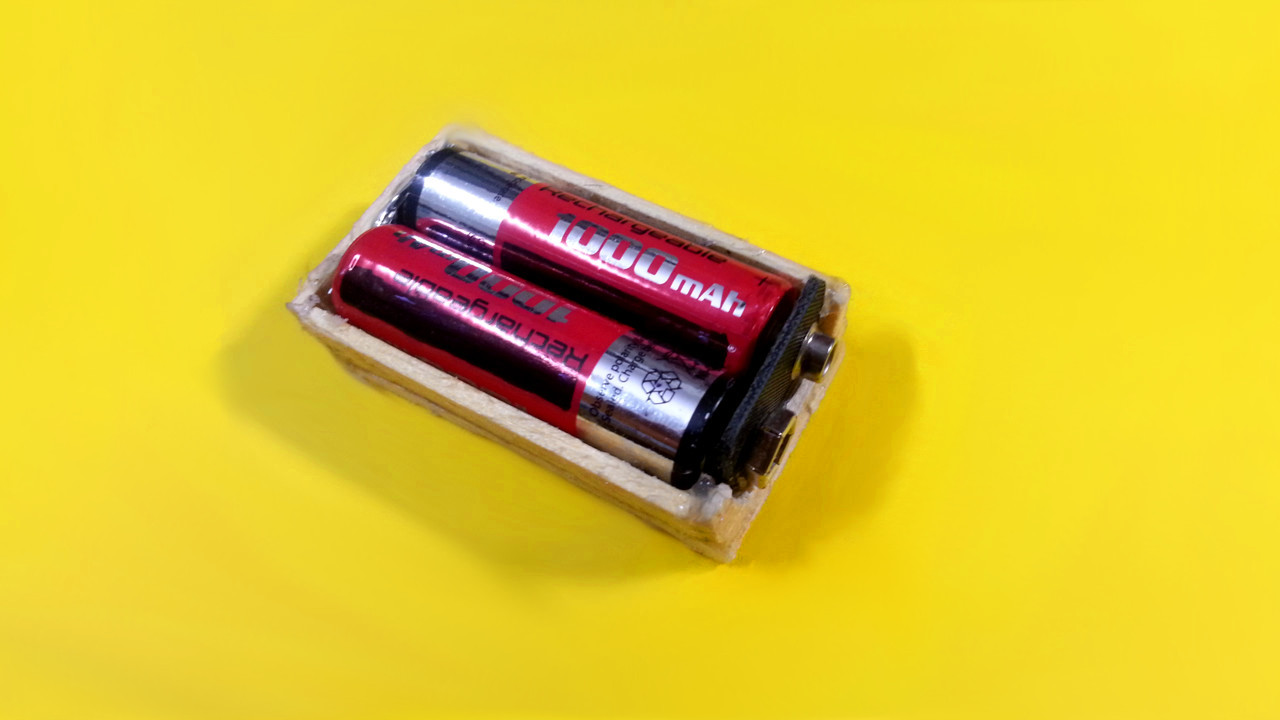 Picture of Finish Battery Holder