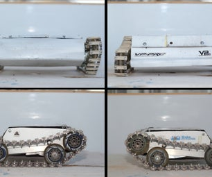 How to Make Custom and Strong Tank Tracks for Very Cheap.