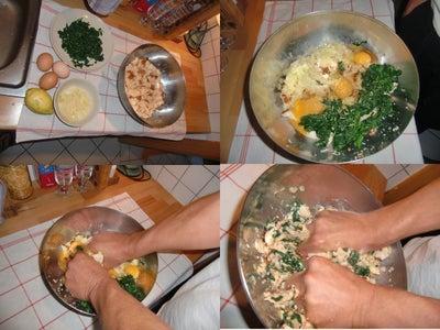 Makeing the Dumpling-dough