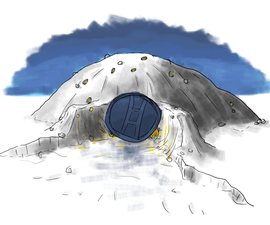 Quinzee: The snow fort that could save your life
