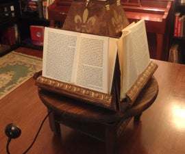 Medieval Book Turntable