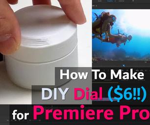 Premiere Pro Edit Dial Controller (Seek / Play / Pause) ($6 DIY)