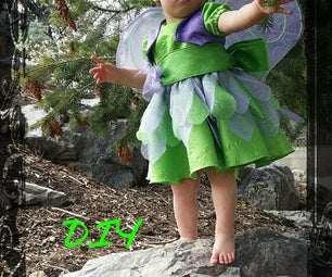DIY Fairy Dress-up for Toddler