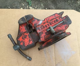 Restoration of a Craftsman Vise Model 506-51800-3