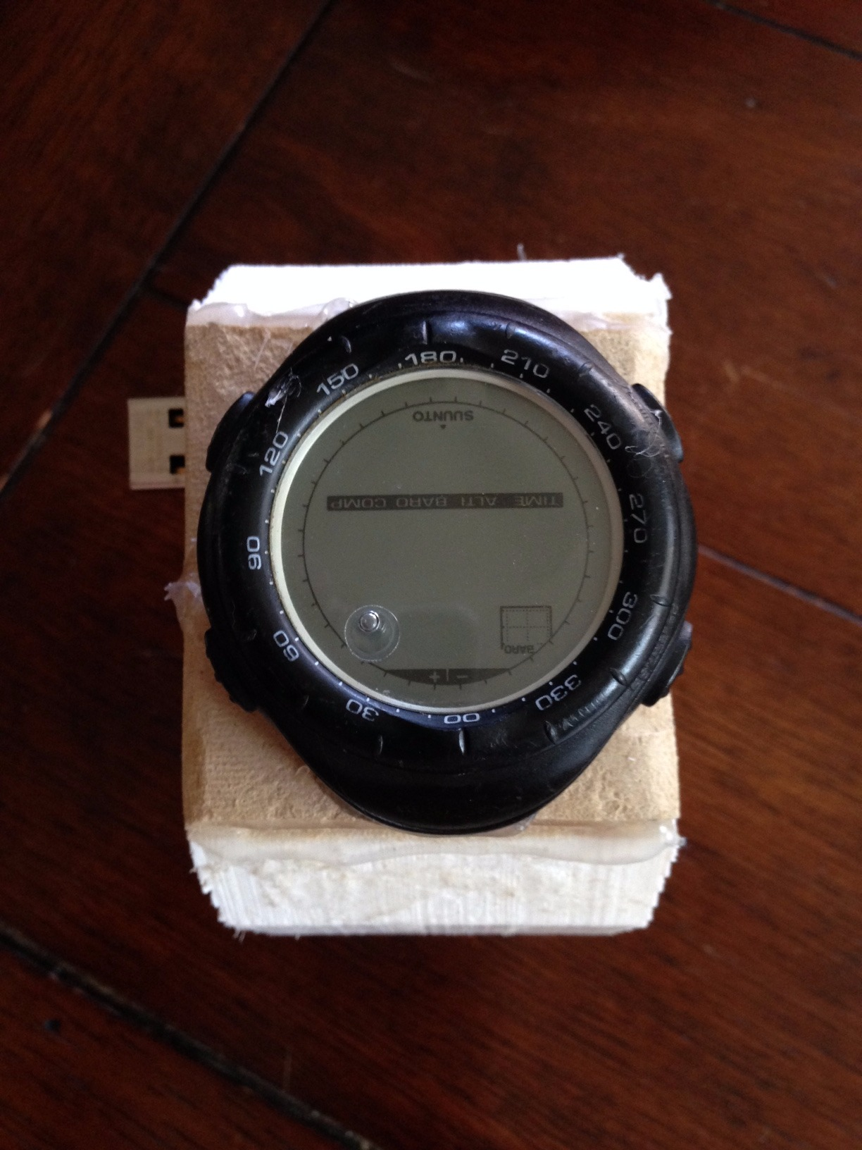Picture of 3D Printed Watch With Hidden USB Flash Drive