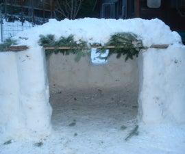 The Bucket System: Modular Snow Construction