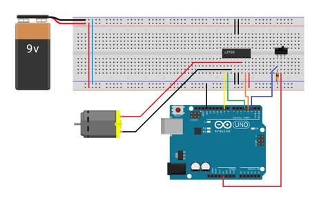 Arduino and a Full Bridge IC