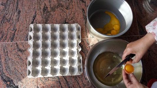Baked Cake Part 1: Egg Yolks