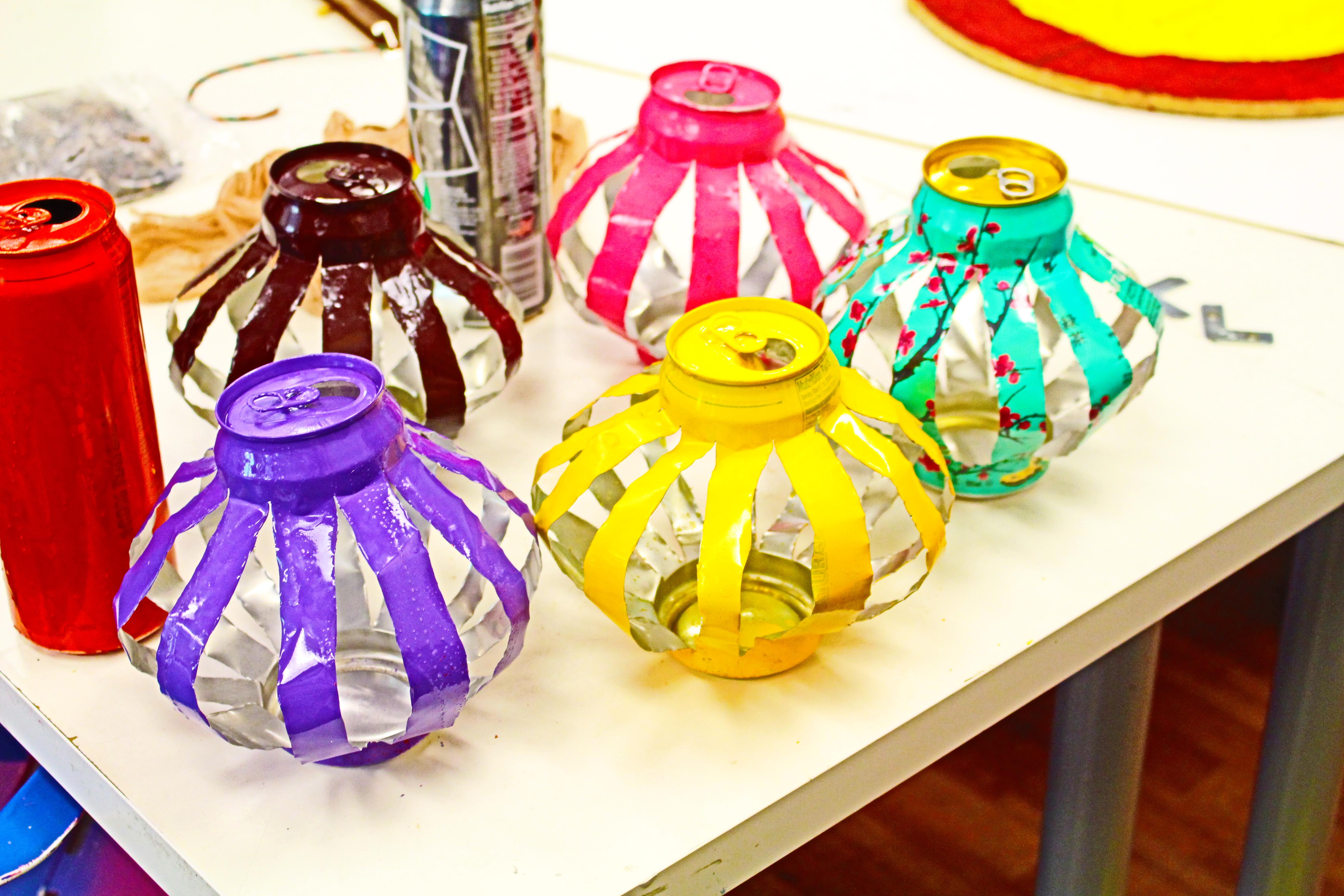 Picture of Arizona Tea Can Lanterns