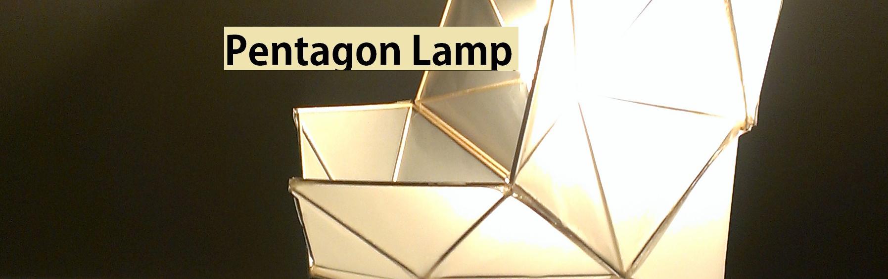 Picture of DIY Pentagon Lamp