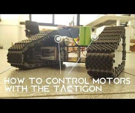 How to Control Motor With the Tactigon - Part II