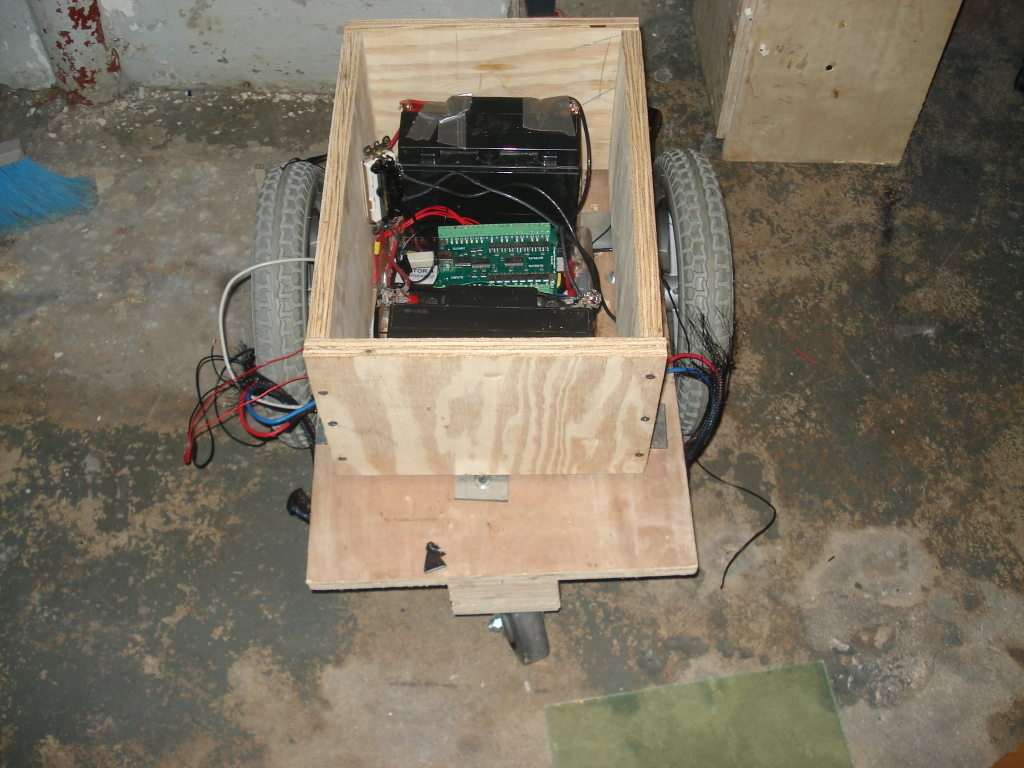 Picture of Building an Enclosure for the Motor Control System