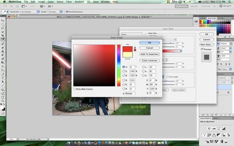 Sabre Colour