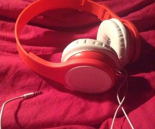 Turn Those Broken Headphones Into New Ones!