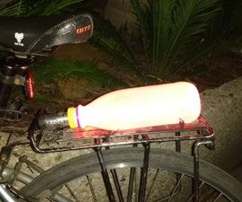 How to make a bike light with greater visiblity