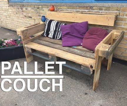 Pallet Couch Thomas Dambo Style