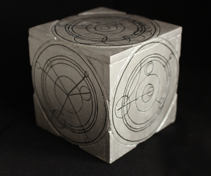 TARDIS Siege Mode Cube