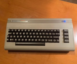 Turn a Commodore 64 Into an IOS Bluetooth Keyboard