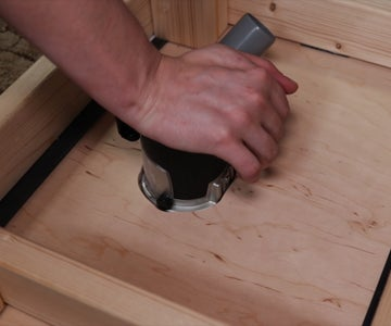 Holes for the Router