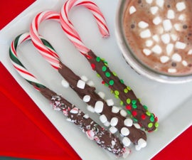 Candy Cane Stirrers