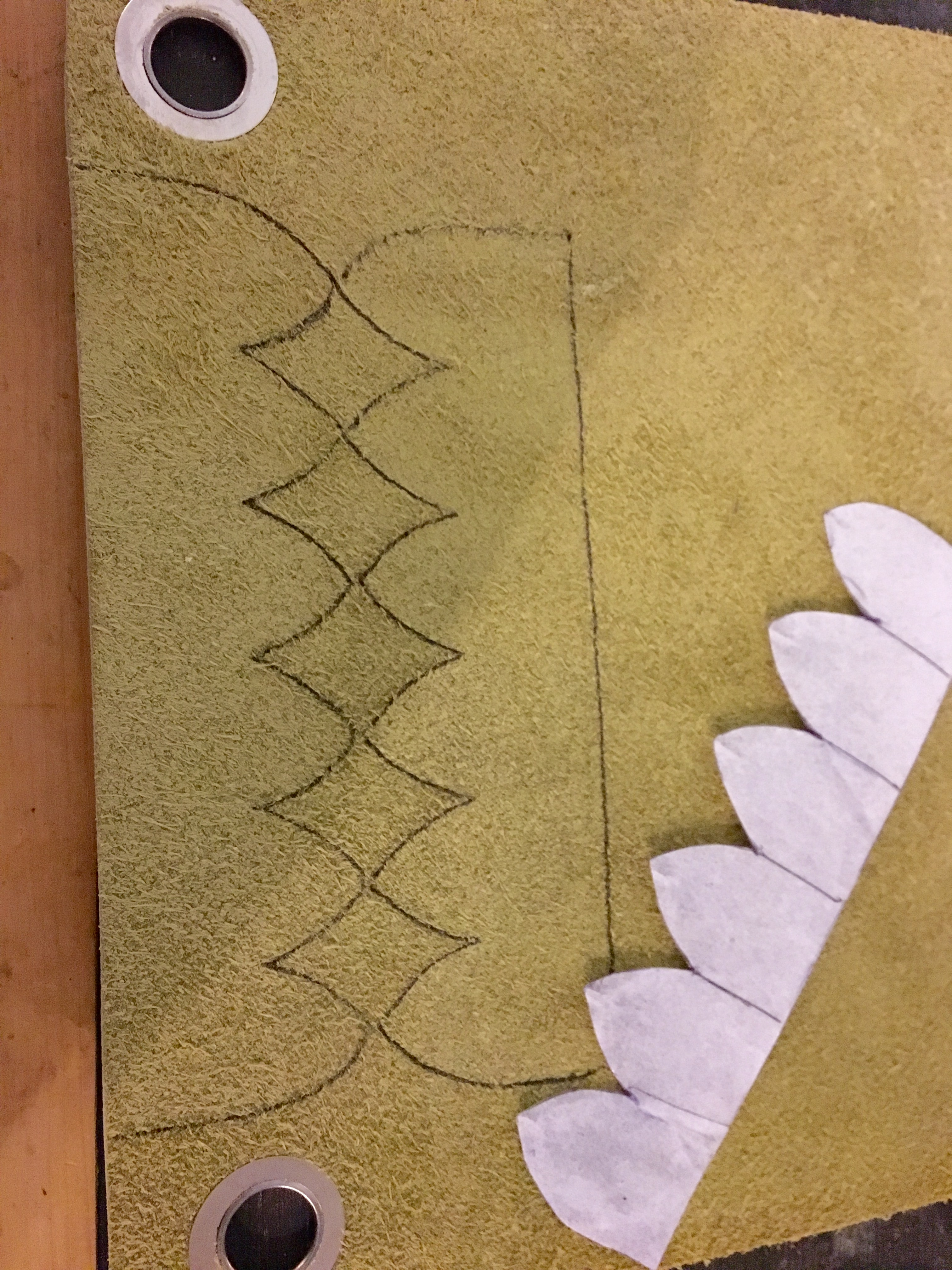 Picture of Trace Patterns Out on the Leather