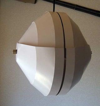 Adjustable Cardboard Lampshade (Helmet)