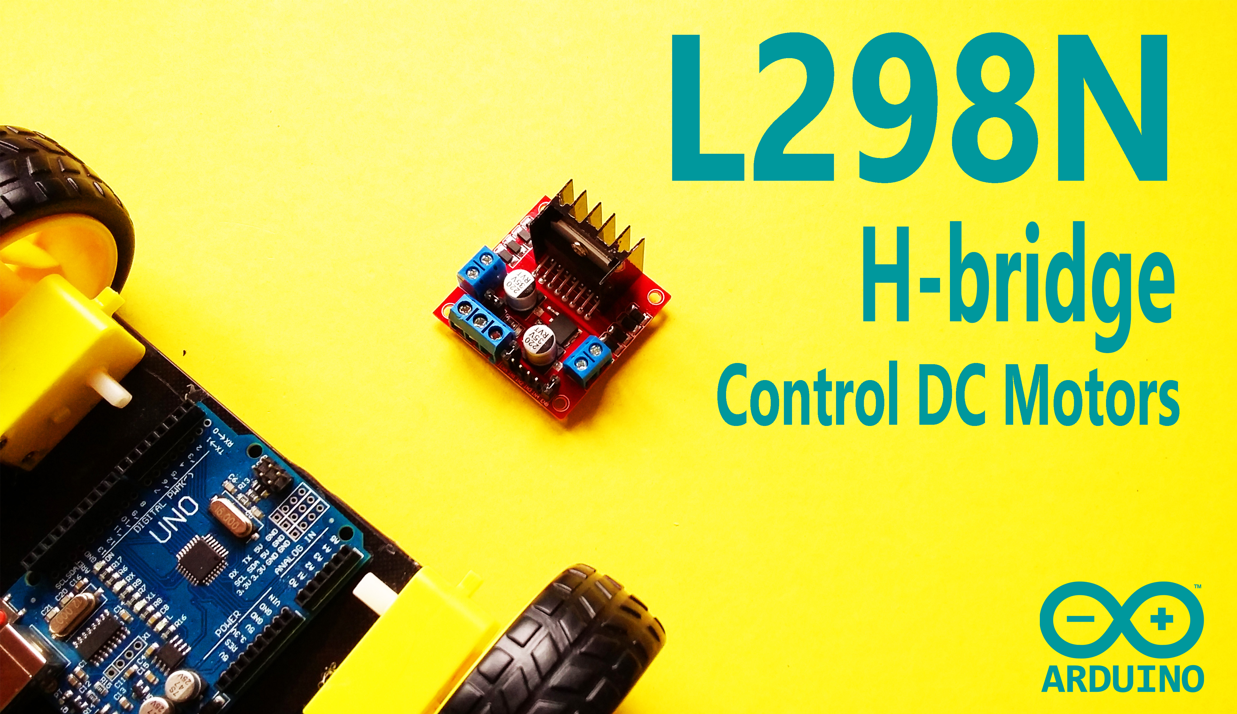 Picture of Arduino - DC Motor Control and PWM Signal With L298N H-bridge