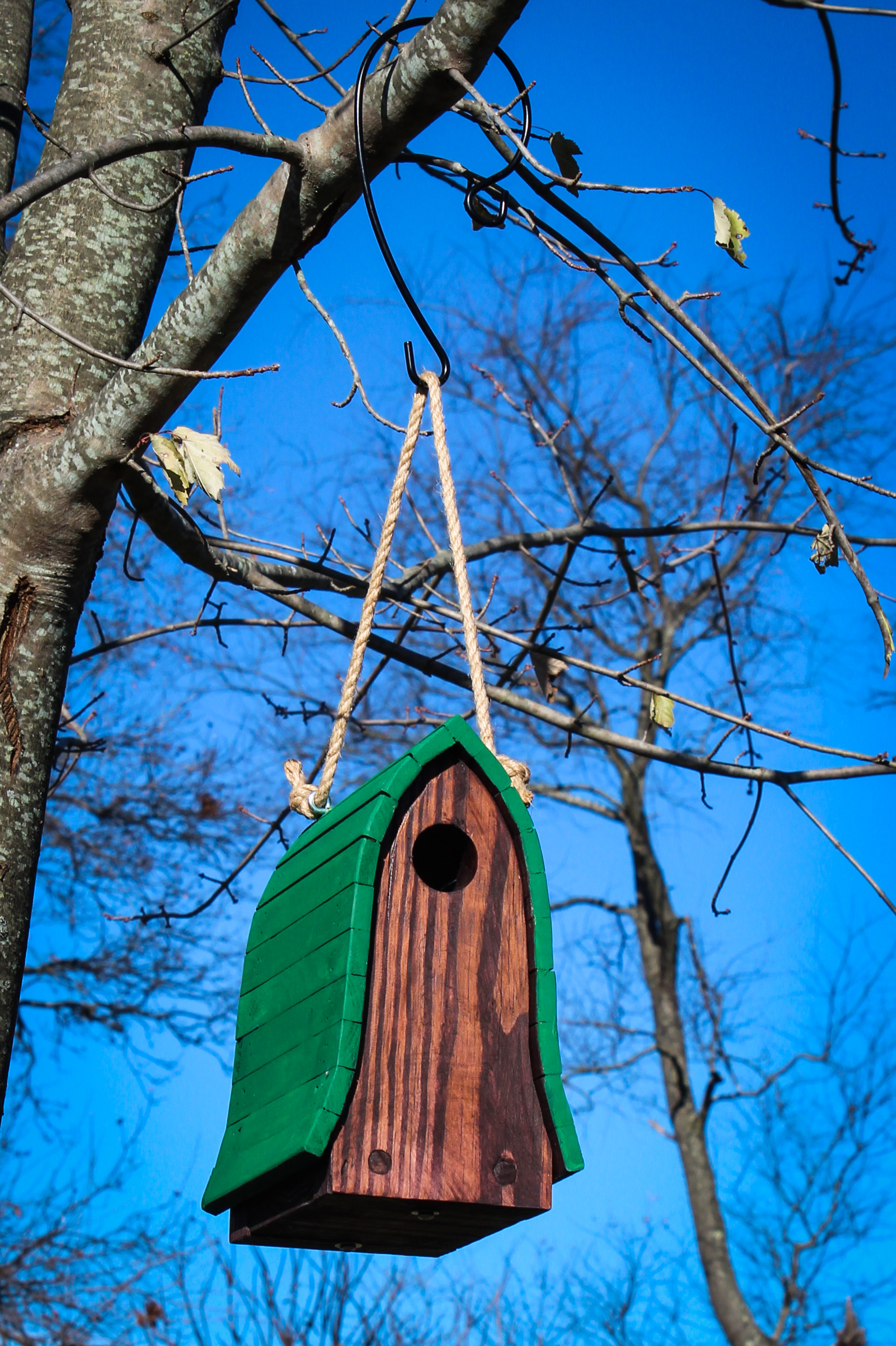 Picture of Bluebird Birdhouse Made From Pallets
