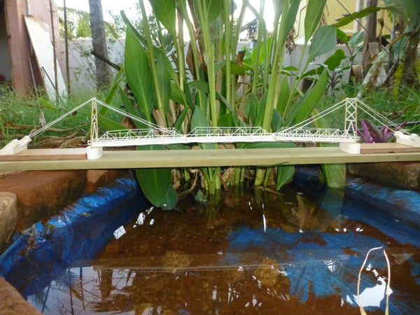 The Bridge on the River Phairuang : a Model Built With Paper
