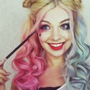 Harley Quinn Suicide Squad Makeup and Hair Tutorial