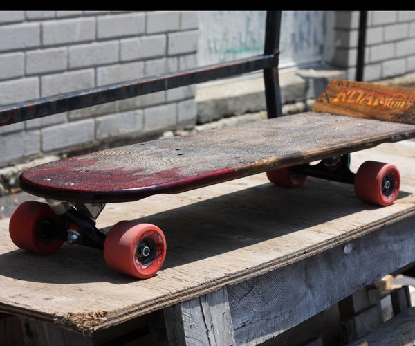 Rideable 'Skid'board