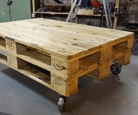 30 Minute Pallet Coffee Table