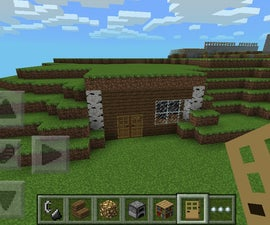 Minecraft Hill House