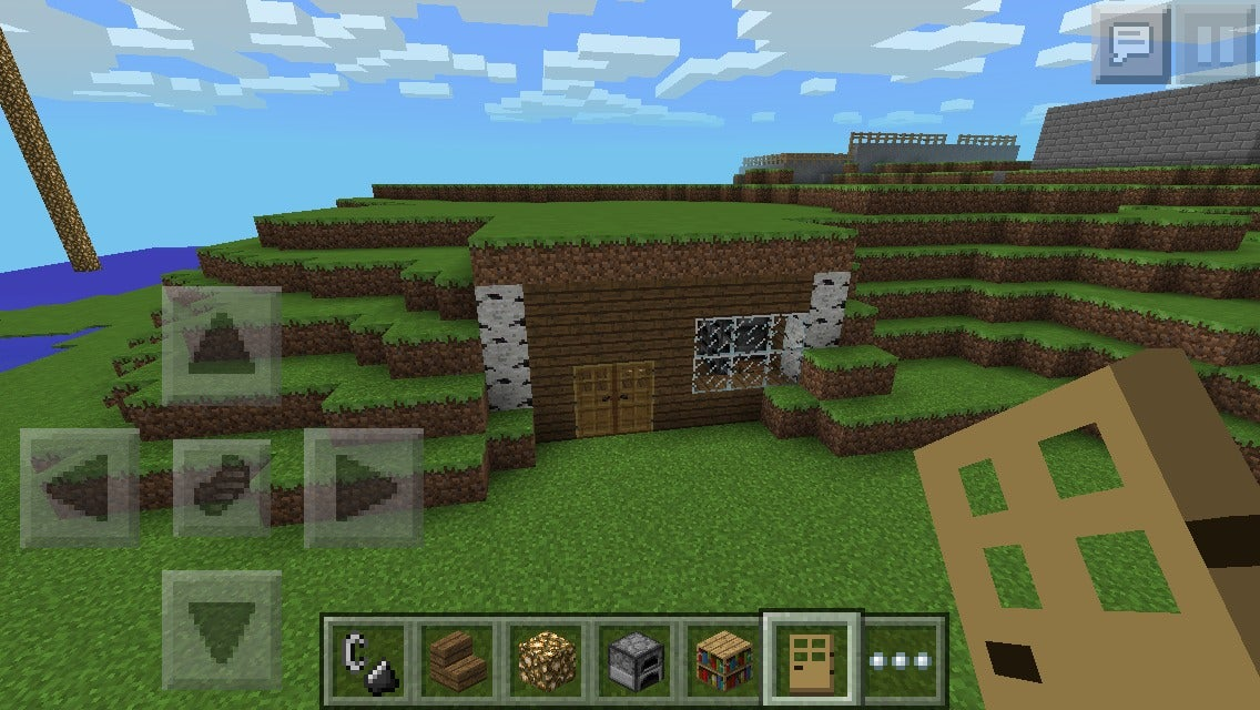 Minecraft Hill House 6 Steps Instructables