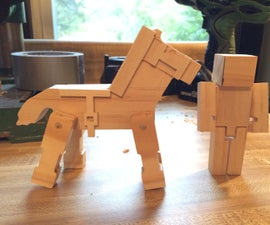 How to Make Wooden MineCraft Toys
